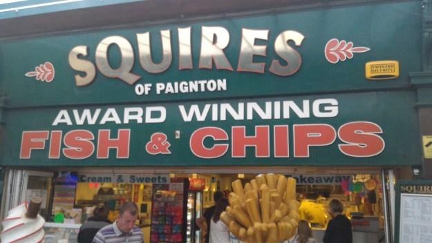 Squires of Paignton - gf Fish & Chips