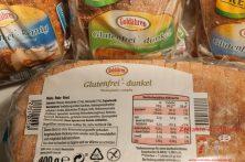 Zutatenliste - Glutenfreies dunkles Brot von Stöhr
