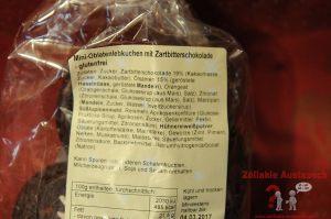 Zutaten Mini-Oblaten-Lebkuchen