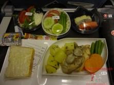 Glutenfreies Essen im Flugzeug bei Turkish Airlines