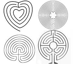 Labyrinth in het Voedselbos De Zoete Geest