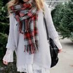 Christmas Tree Shopping + A Layered Holiday Look