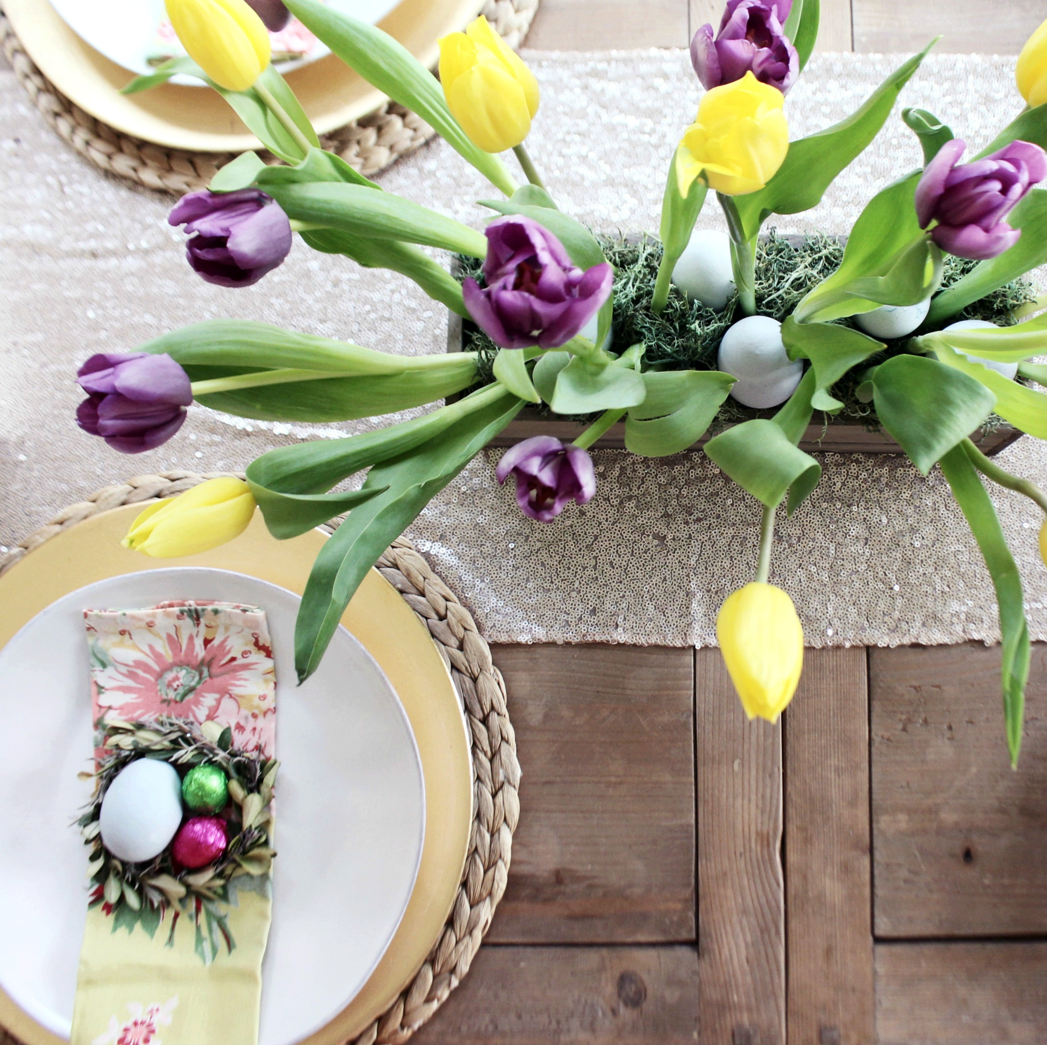 Excellent How To Make A Tulip Centerpiece For Your Easter Table Zoe Download Free Architecture Designs Estepponolmadebymaigaardcom