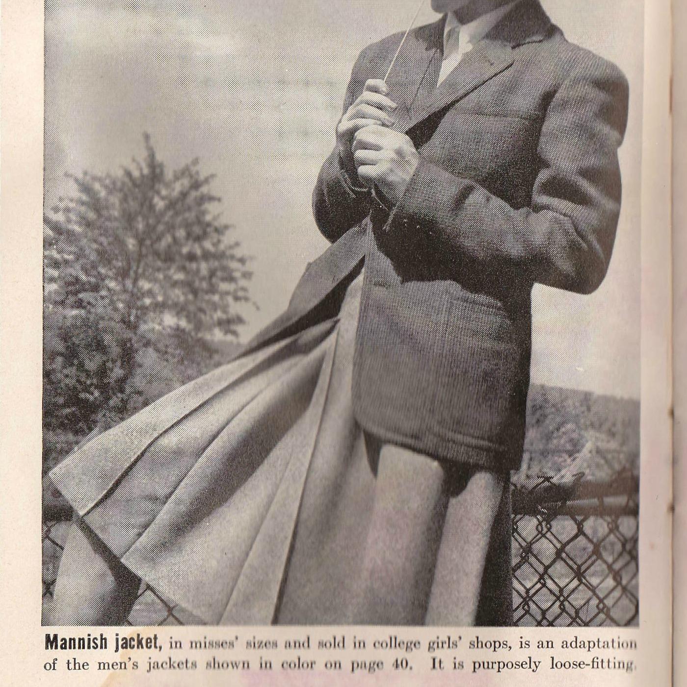 The Mannish Jacket
