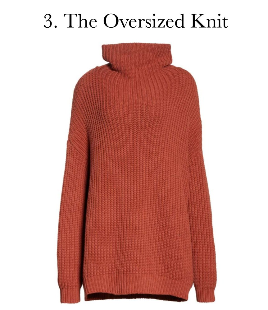 5 must have sweater styles: the oversized knit