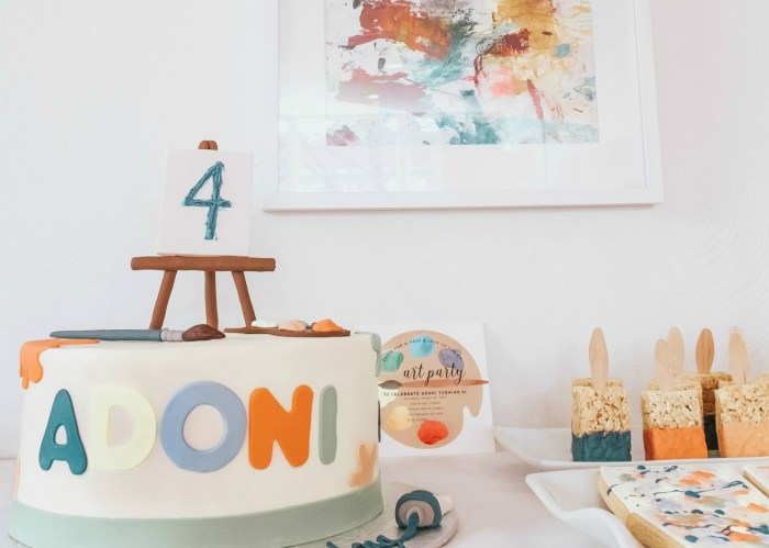 Tips for Throwing a Kids Art Party | Lifestyle Blog, Zoë With Love