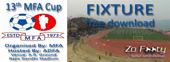 13th MFA Cup Fixtures (23rd April -5th May, 2012)