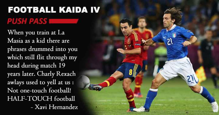 the best attitude 79b41 36bec Football Kaida- 4   Push Pass
