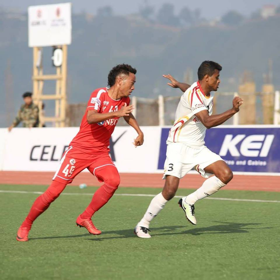 HERO I-LEAGUE: AIZAWL FC LEH EAST BENGAL INHNEHTAWK -Rooney Opa