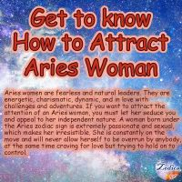 How to treat and date your Aries Woman?? Find out! ------- Follow  for more fun ...
