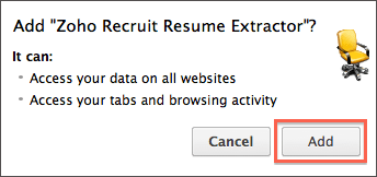 how to download and install zoho recruit resume extractor