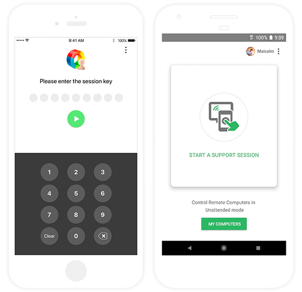 Remote Support Mobile App - Zoho Assist
