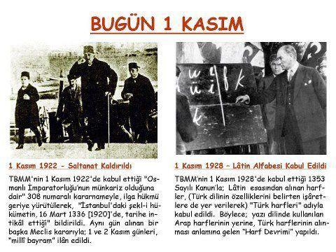 1 Kasım 1922'de saltanat kaldırıldı. ile ilgili görsel sonucu