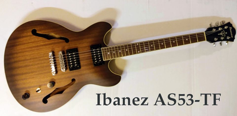 Ibanez AS53-TF Hollow Body