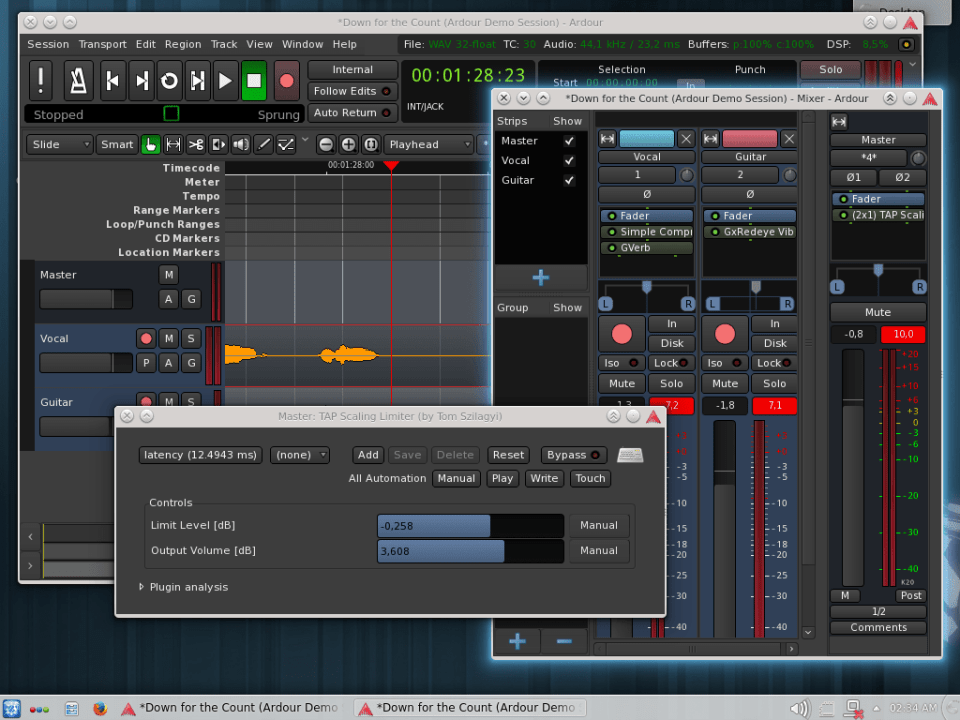Ardour Studio software
