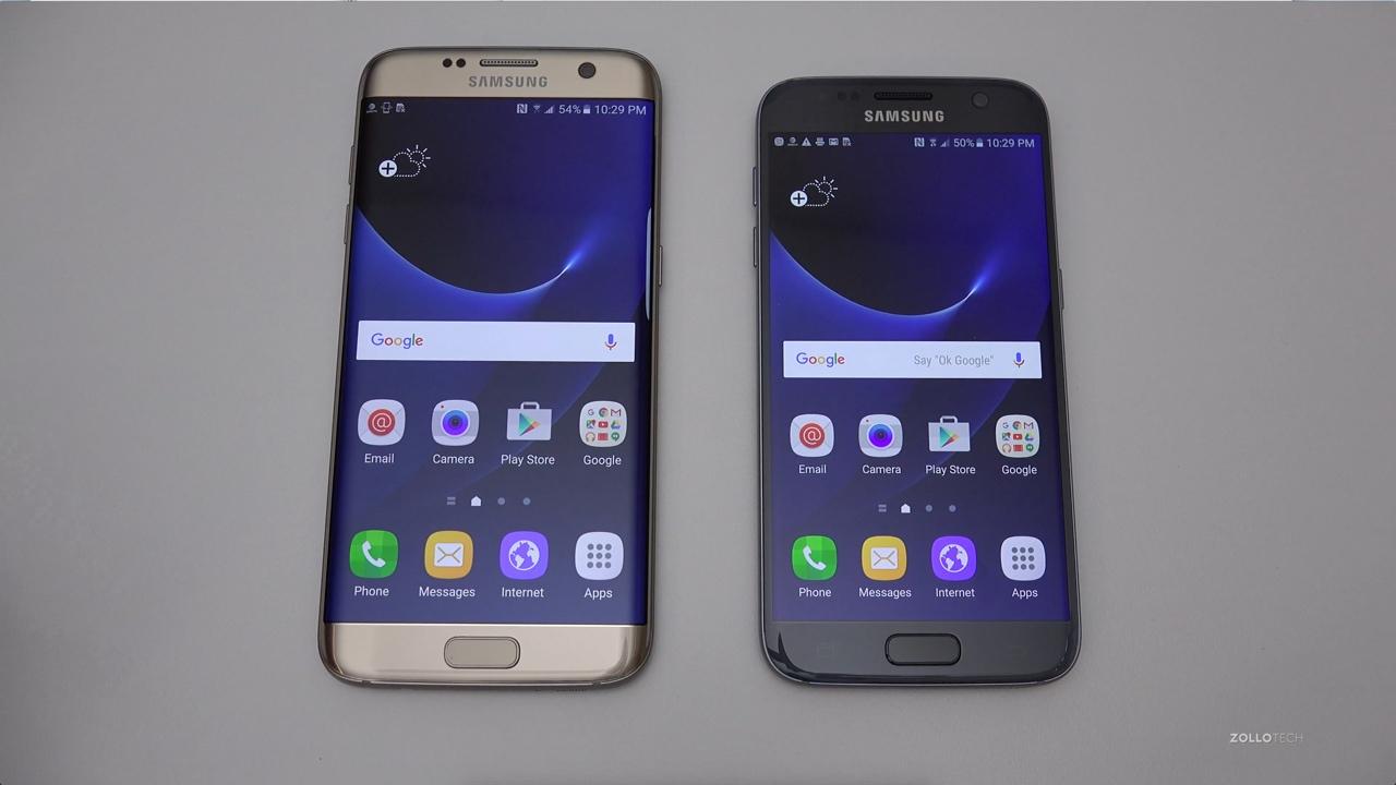 Samsung Galaxy S7 Amp S7 Edge Unboxing Amp Setup Zollotech