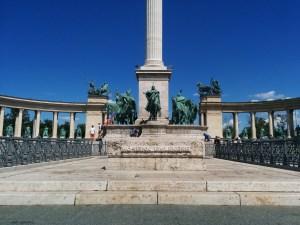 Place des Héros, Budapest