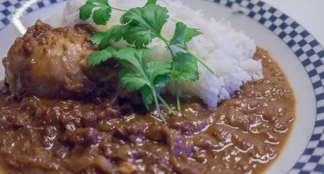 kippenbout met pindasaus en rijst-2