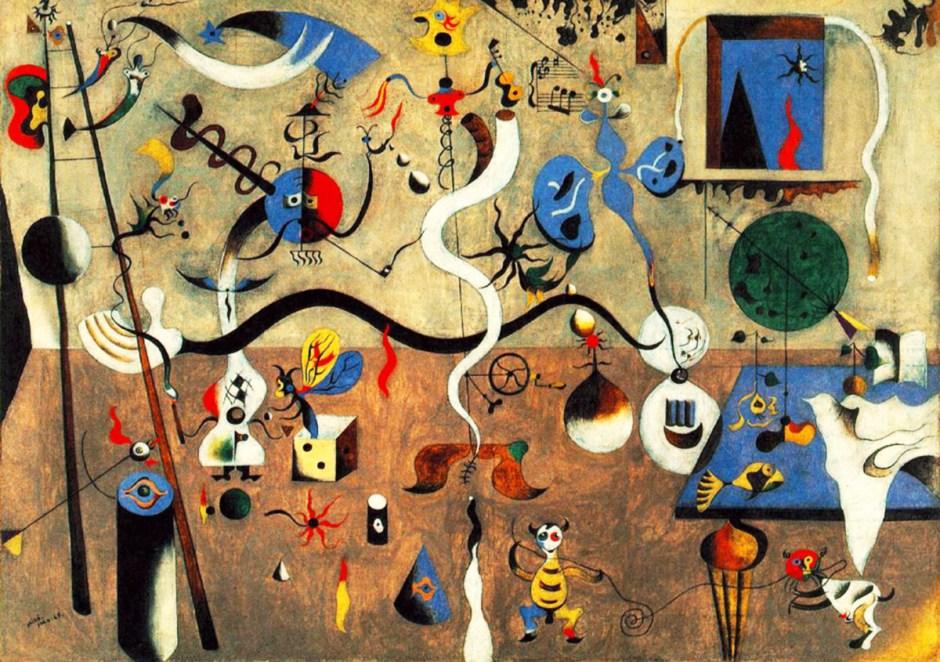Carnival -- Miró