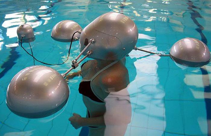 Underwater Telephone system
