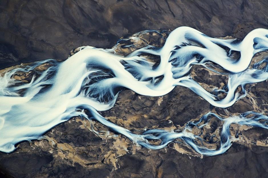 Icelandic River Delta -- Earth Zygote