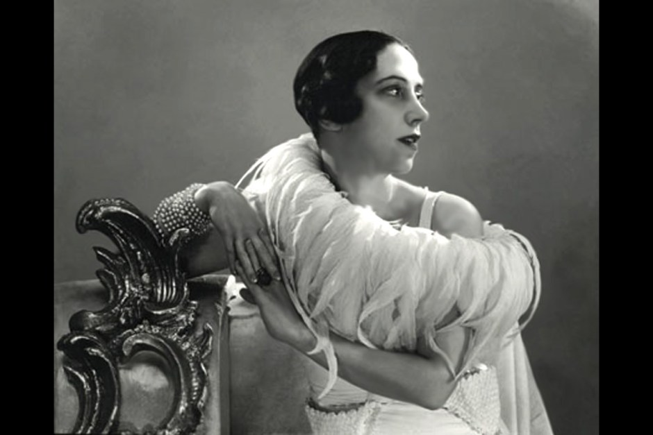 Italian fashion designer Elsa Schiaparelli (1890–1973)