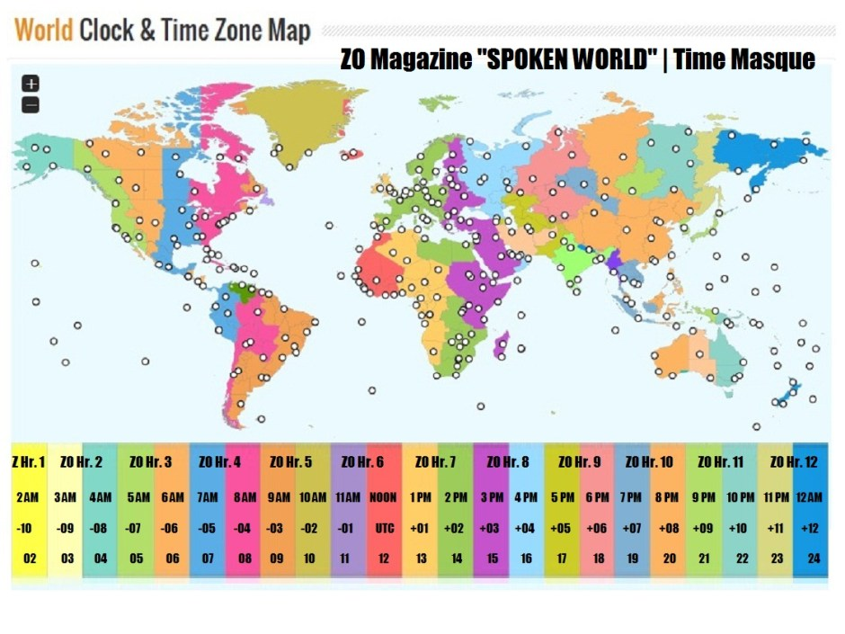 SPOKEN WORLD TIME SCHEDULE