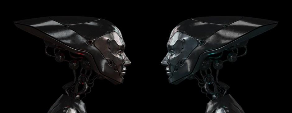 "©  Vladyslav Otsiatsia -- ""Steel Robots"""