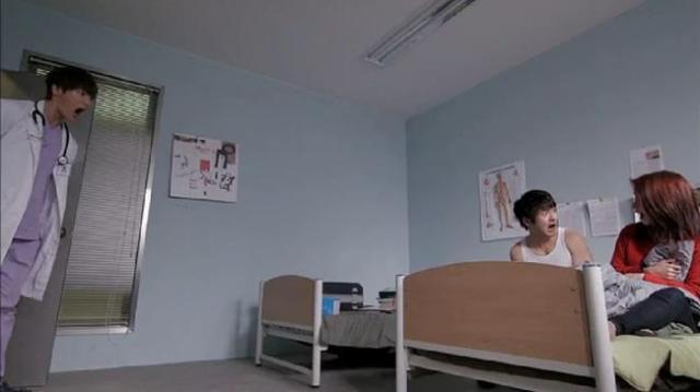 Oh Chang Min Gook Chun Soo Oh Jin Hee scream