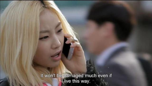 Oh Jin Ae - It won't be damaged much even if I live this way