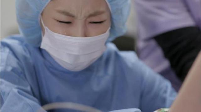 Oh Jin Ae cries