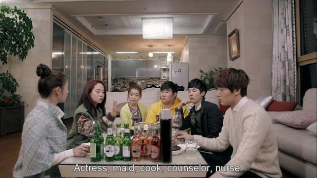 Oh Jin Hee - Actress maid cook counselor nurse