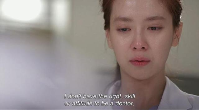 Oh Jin Hee - I don't have the right skill or attitude to be a doctor