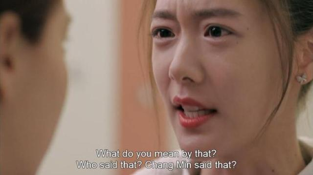 Han Ah Reum - What do you mean by that Who said that Chang Min said that