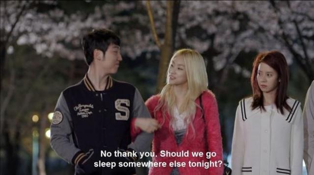 Oh Jin Ae - No thank you Should we go sleep somewhere else tonight