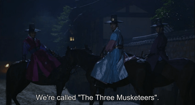 three musketeers