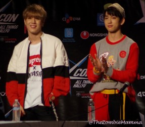 Yugyeom and Jr 1