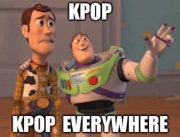 kpop everywhere