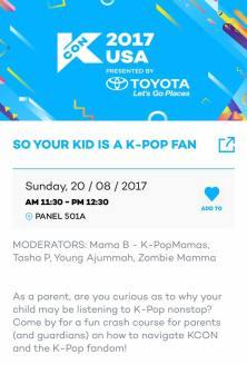 So Your Kid is a KPop Fan