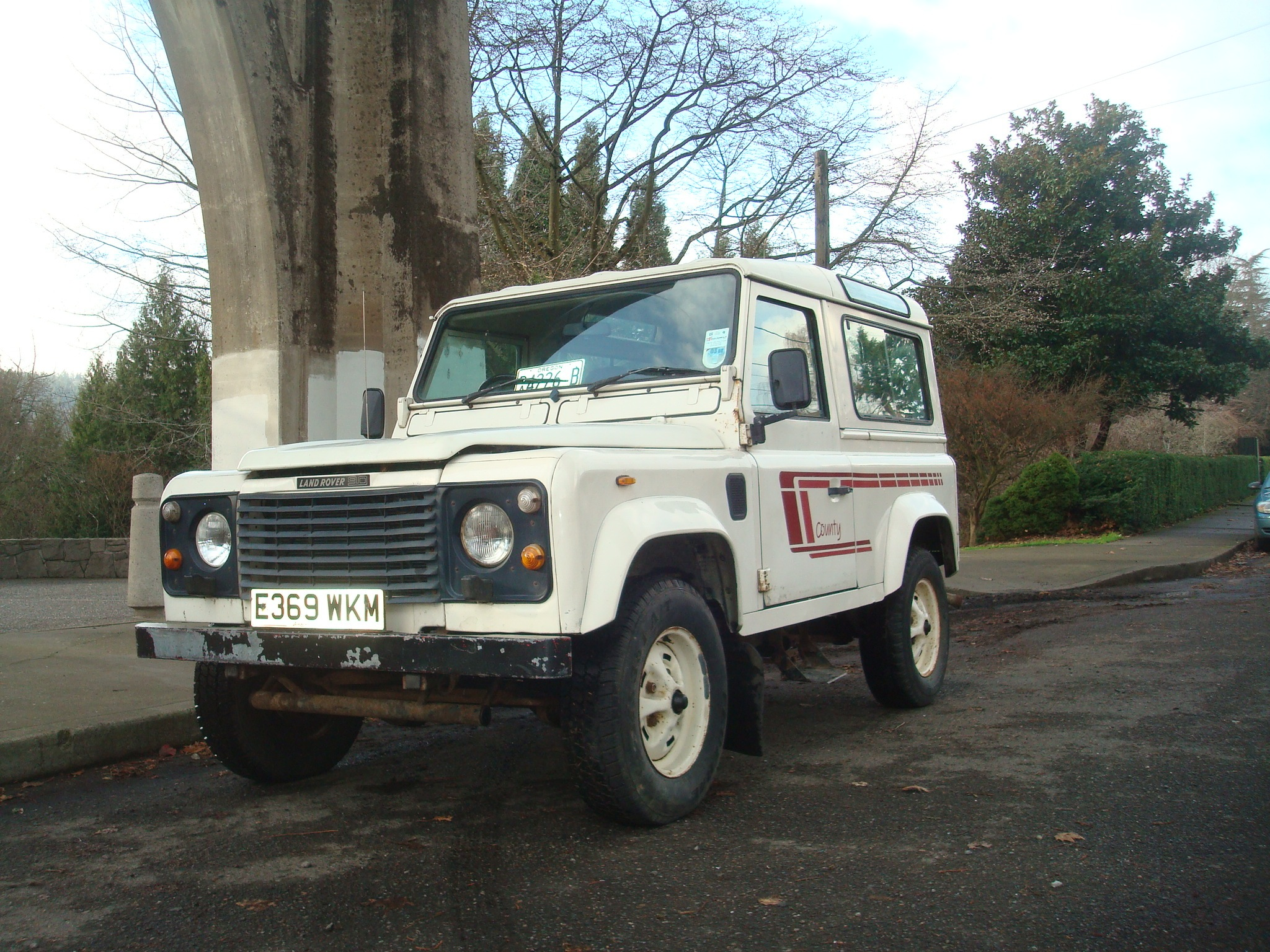 1988 Land Rover Defender 90 turbo sel CSW