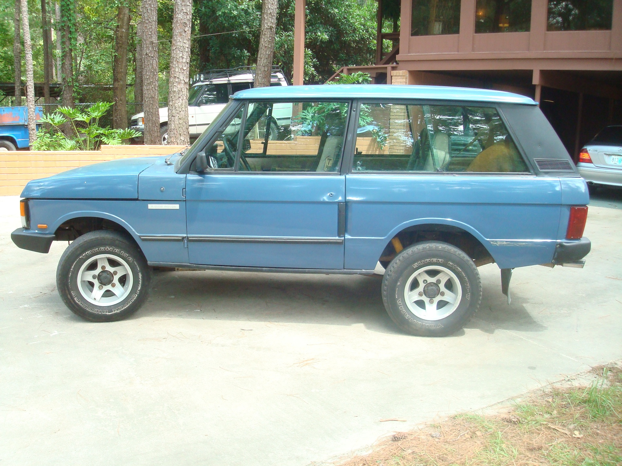 SOLD 1988 Range Rover 2 door turbo sel 5 speed with all manual
