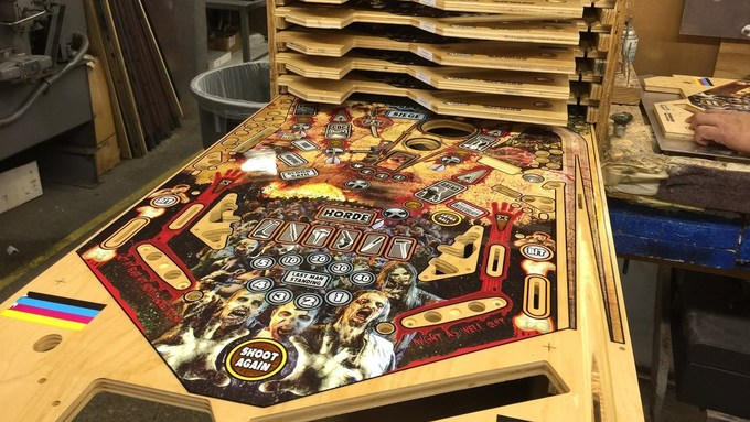 The Making of 'The Walking Dead' Pinball Machine