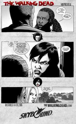 Preview Panels for 'The Walking Dead' Issue 140