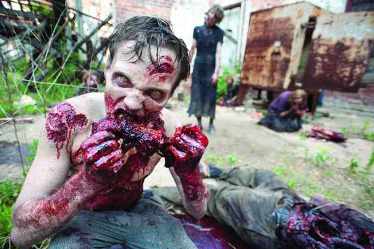 Censors attack THE WALKING DEAD