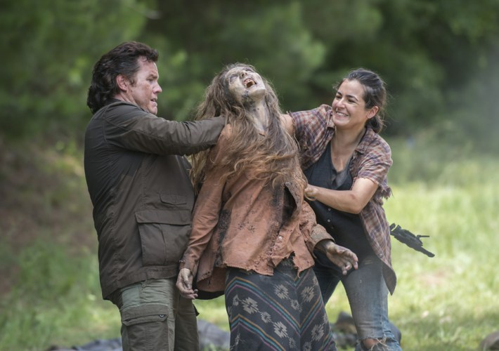 THE WALKING DEAD and Domestic Violence