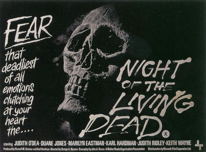 NIGHT OF THE LIVING DEAD getting a BluRay release