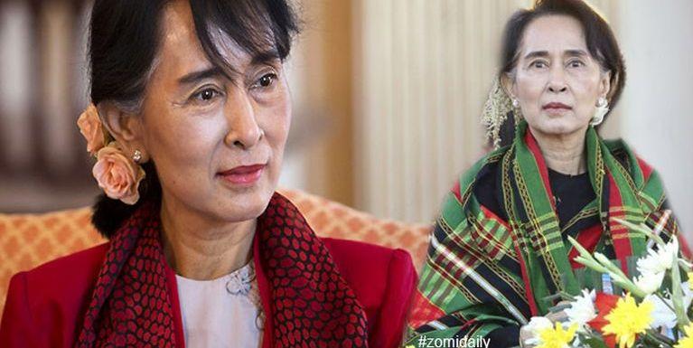 Aung San tanu Suu Kyi na thei takpi hiam? ~ Hau Za Cin
