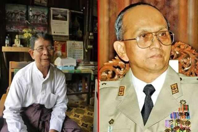 U Theinsein leh a sanggampa U Thunmyint