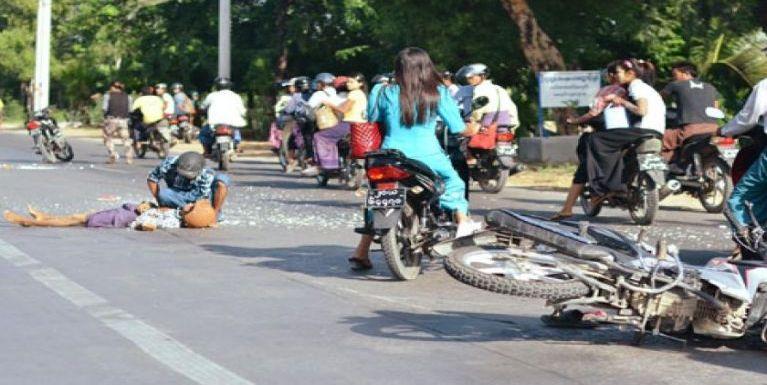 Mandalay Region sungah lampitung tuahsiatna Road Accident tam mahmahlai