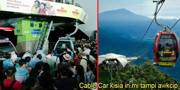 Malaysia, Langkawi ah Cable Car kisia in, mi 1126 awkcip